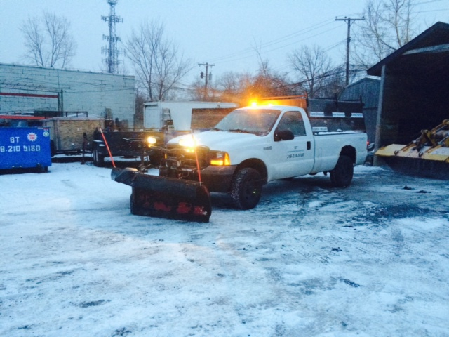 Ready for Mother nature with a Boss V-Plow