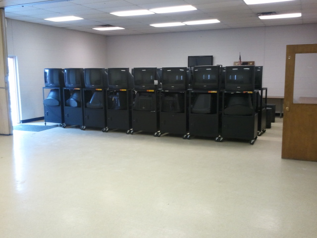 "50+ 27"" TV's donated to the community via Hazel Park Rec Center"